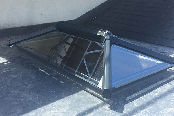 Stage 2 of Skylight install