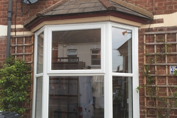Bay window install completed