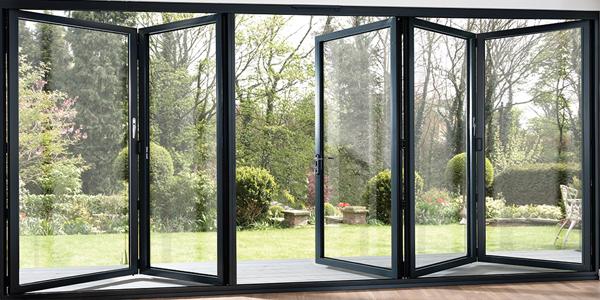 Bi-Folding external doors