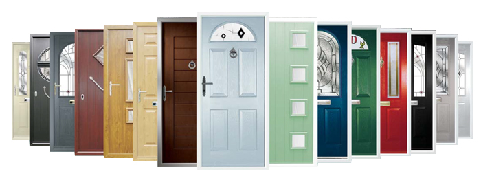 Range of composite doors