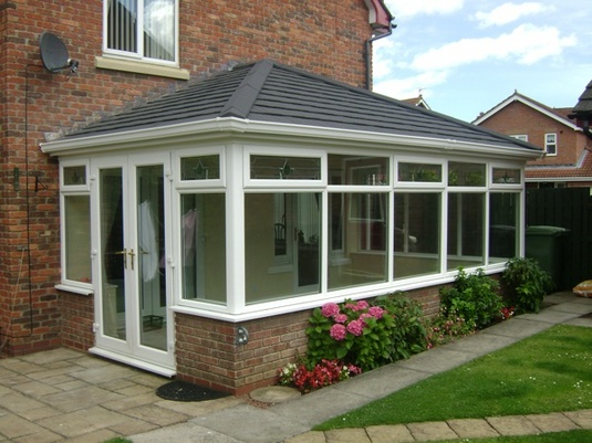 External view of Equinox tiled roof