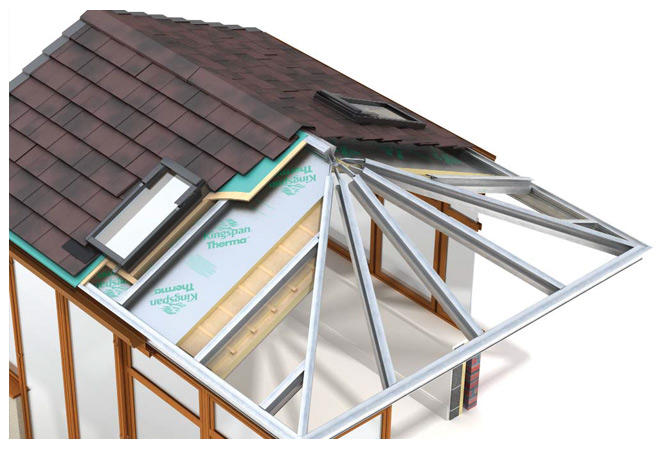 Equinox Roofing Sectional Illustration